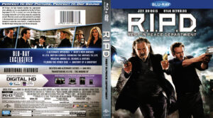 R.I.P.D. blu-ray dvd cover