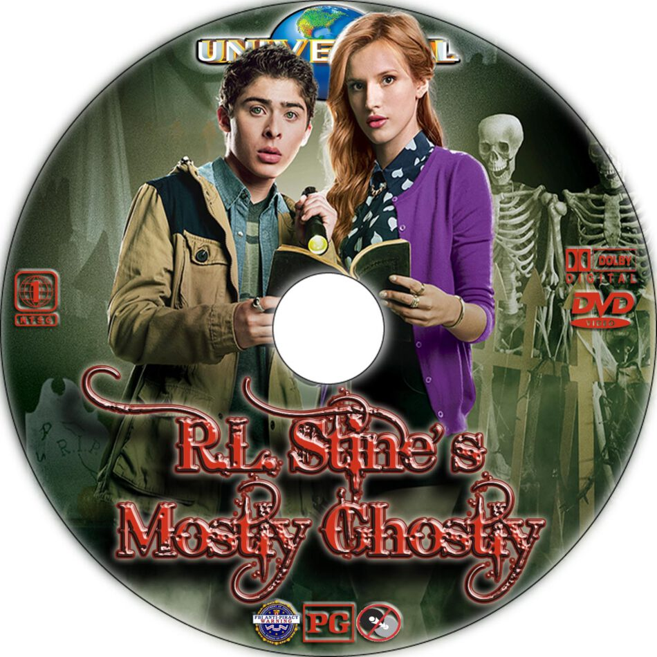 Mostly Ghostly dvd label