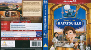 Ratatouille 3D (Blu-ray) dvd cover