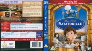 Ratatouille 3D (Blu-ray) dvd cover