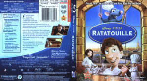 Ratatouille (Blu-ray) dvd cover