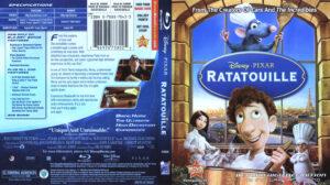 Ratatouille (Blu-ray) dvd cover