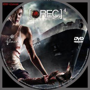 [REC] 4: Apocalypse dvd label