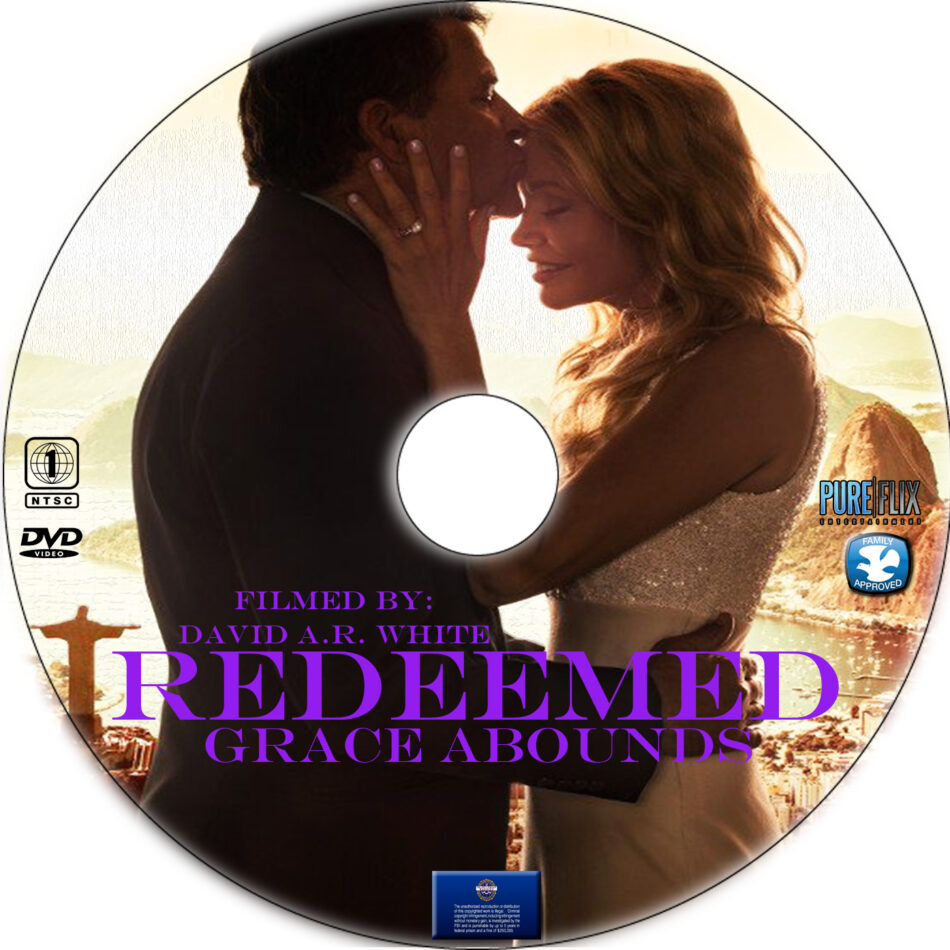 Redeemed dvd label