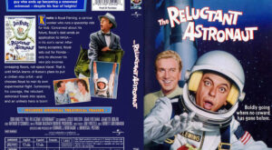 The Reluctant Astronaut dvd cover