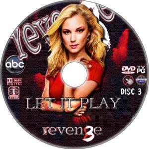 Revenge dvd label
