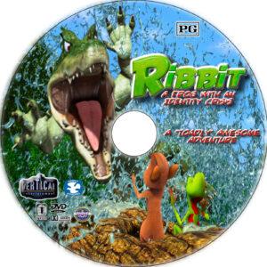 ribbit dvd label