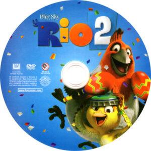rio 2 dvd label