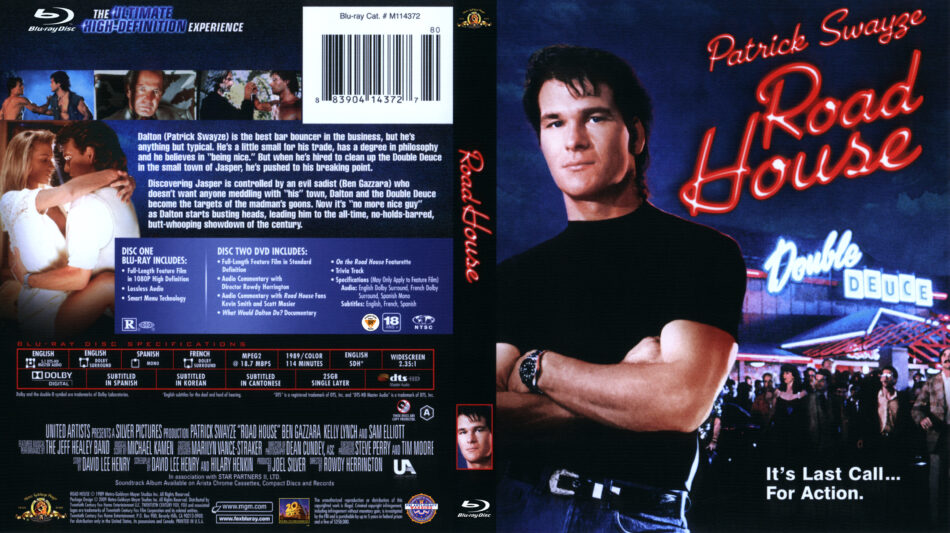 Road House (Blu-ray) dvd cover