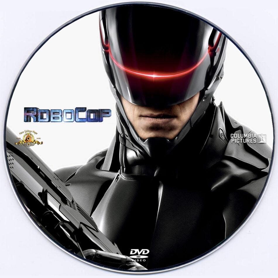 Robocop dvd label