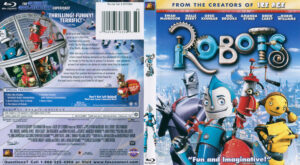Robots (Blu-ray) dvd cover