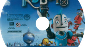 Robots (Blu-ray) Label