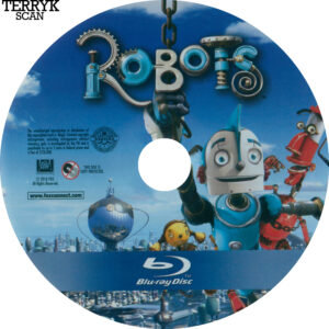 Robots (Blu-ray) Label