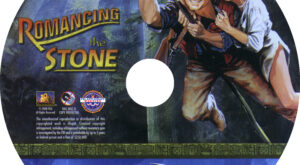 Romancing the Stone (Blu-ray) Label