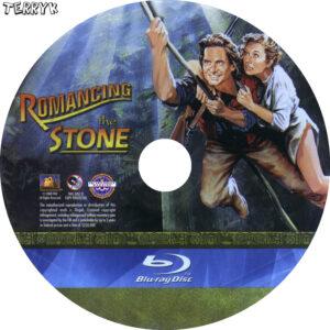 Romancing the Stone (Blu-ray) Label