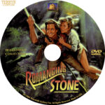 Romancing the Stone (1984) R1 Custom DVD Label