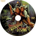 Romancing the Stone (1984) R1 Custom DVD Label