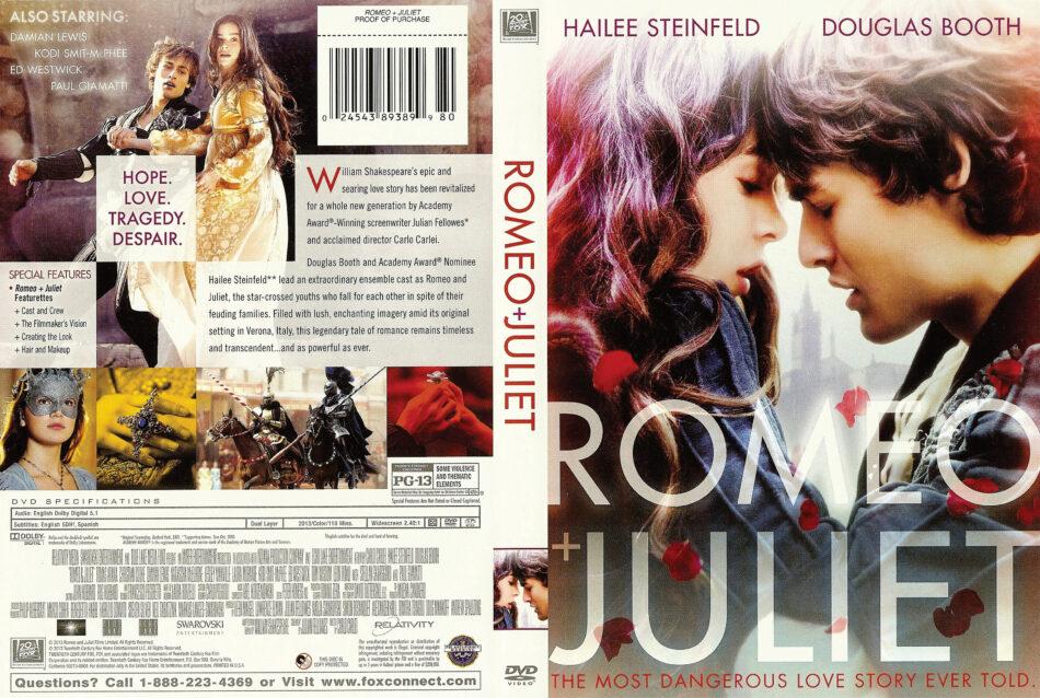 Romeo & Juliet dvd cover