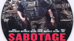 Sabotage dvd label