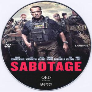 Sabotage dvd label