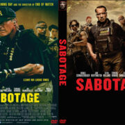 Sabotage (2014) R1 Custom DVD Cover