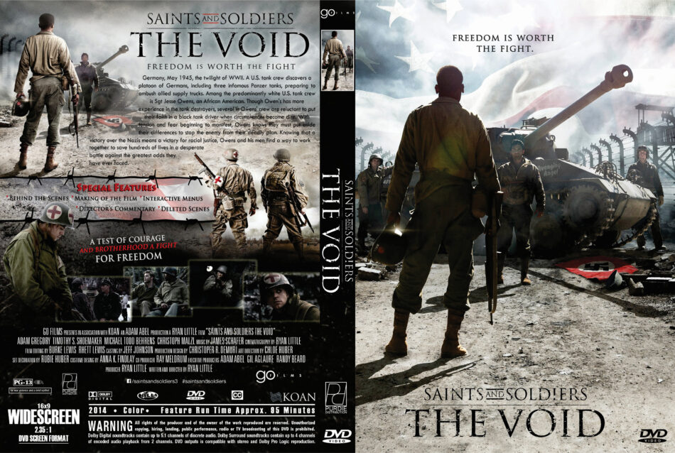 Saints and Soldiers: The Void dvd cover