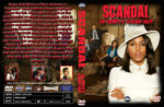 Scandal: Season 3 (2013) R1 Custom DVD Cover