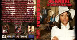 scandal season 3 dvd cover