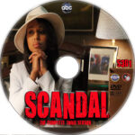 Scandal: Season 3 (2013) Custom DVD Labels