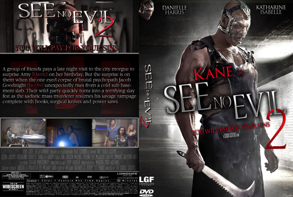 See No Evil 2 dvd cover