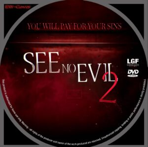 See No Evil 2 dvd label