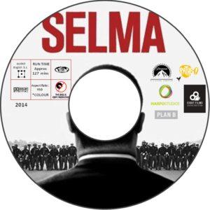 SELMA dvd label