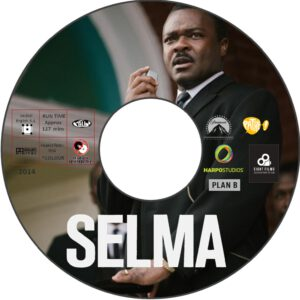 SELMA dvd label