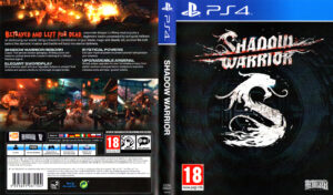 Shadow Warrior dvd cover