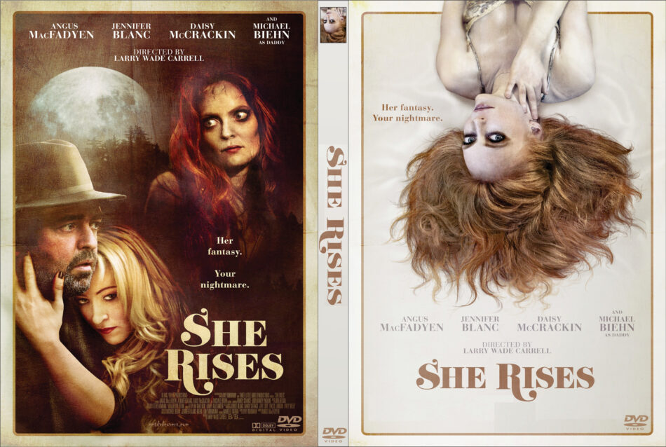 She Rises dvd cover