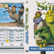 Shrek 3D The Complete Collection (2010) Blu-Ray Cover