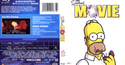 Simpsons Movie, The (Blu-ray) dvd cover