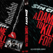 Sin City: A Dame to Kill For (2014) Custom DVD Cover
