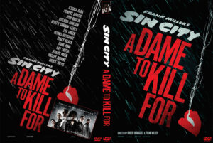 Sin City: A Dame to Kill For dvd cover