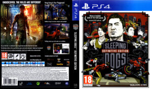 Sleeping Dogs - Definitive Edition dvd cover