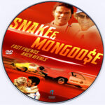 Snake and Mongoose (2013) Custom DVD Label