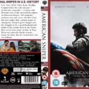 American Sniper (2014) R2 CUSTOM DVD Cover