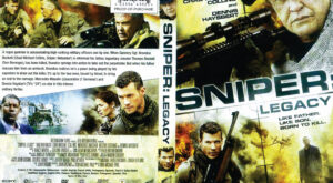 Sniper: Legacy dvd cover