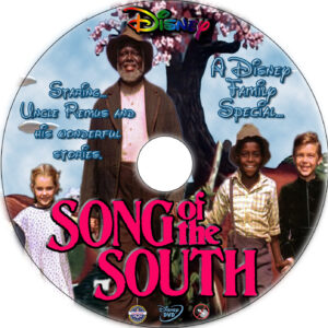 Song of the South dvd label