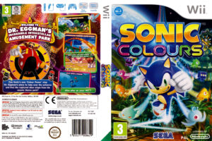 Sonic Colours Wii PAL Cover
