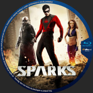 Sparks blu-ray dvd label