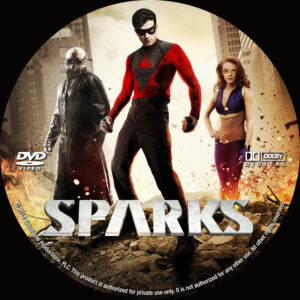 Sparks dvd label