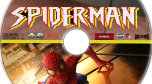 Spider-Man dvd label