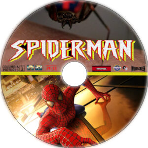 Spider-Man dvd label