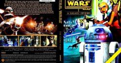 Star Wars - The Clone Wars 01 - Season I dvd cover